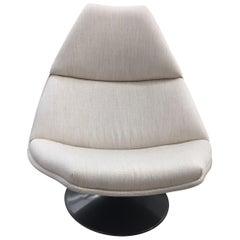 F510 Fabric Swivel Lounge Chair