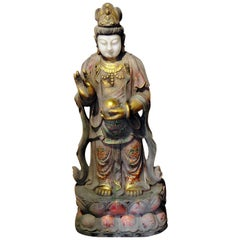Figural Oriental Marble Statue