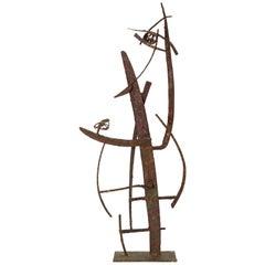 """Jacob's Ladder"" Welded Metal Sculpture by Max Finkelstein"