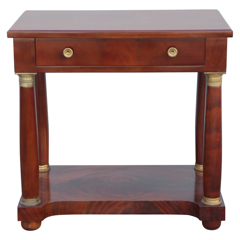 Biedermeier Style Side Table