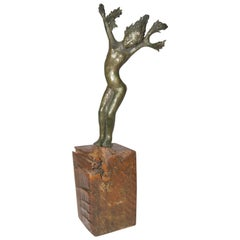 "Bronze Sculpture ""Daphne"""