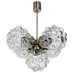Bubble Glass Cluster Chandelier by Helena Tynell '2 Available'