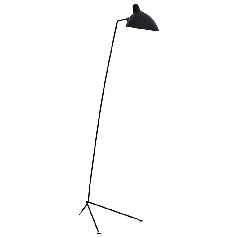 """Simple"" Floor Lamp by Serge Mouille For Sale"