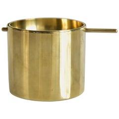 Small Arne Jacobsen Brass Ashtray by Stelton Made in Denmark