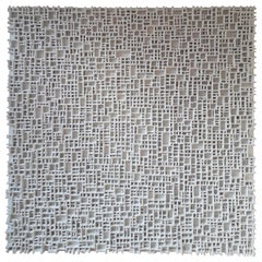Contemporary Art, Minimal and Zero Art, Acrylic Fiber Weave Sculpture