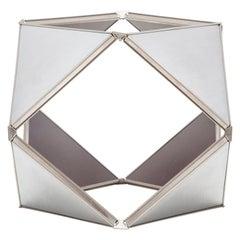 1970s Aluminum Sculpture by Buckminster Fuller