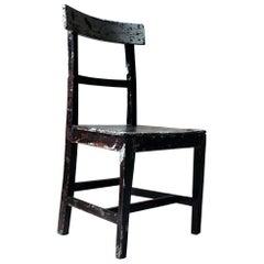 Mid-19th Century Irish Painted Carpenters Side Chair, circa 1840