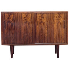 Smaller Midcentury Danish Sideboard in Rosewood by Hundevad