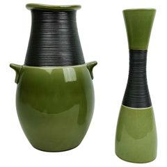 Set of 2 Vases Bahia Carl-Harry Stålhane Rörstrand Sweden