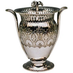 Silver Austrian Biedermeier Sugar Urn Bowl Franz Koell Made in Vienna, 1817