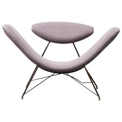Reversible Chair by Carlo Hauner & Martin Eisler for Forma Moveis, Brazil, 1955