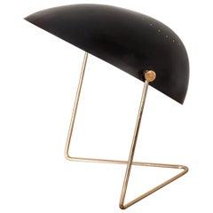Black Gerald Thurston Cricket Lamp for Lightolier