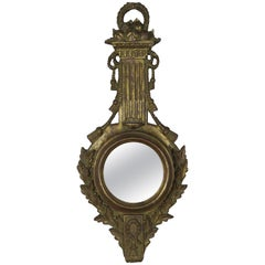 Italian Giltwood Mirror with Tassels