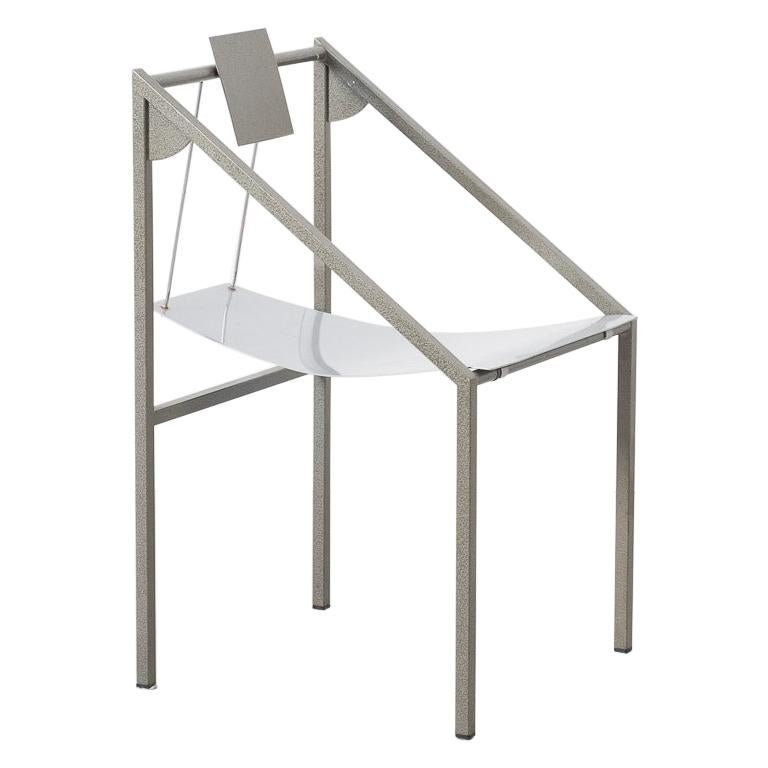 Prototype Chair Attributed to Mario Botta Italy, 1980s For Sale