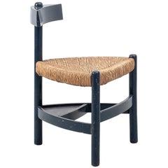 Wim Den Boon Rush Chair, Netherlands, 1952