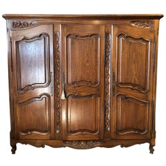 Media Retrofitted French Armoire