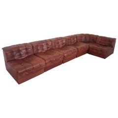 Vintage Sectional Sofa DS 11 by De Sede, Switzerland