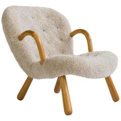 Phillip Arctander Clam Chair, 1944