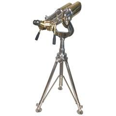Rare WWII 20 x 120 United States Navy Bridge Binoculars