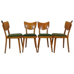 Set of Four Chairs, 1960s