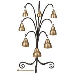 Arts & Crafts Peal Gong Bell Liberty's, circa 1900