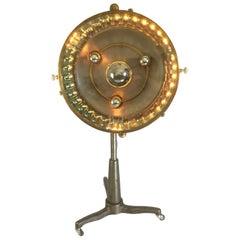 """French Industrial Floor Lamp """"Scialytique BBT"""", 1950s"""
