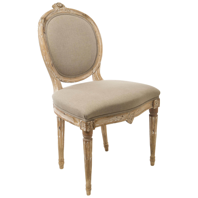 18th Century Gustavian Side Chair