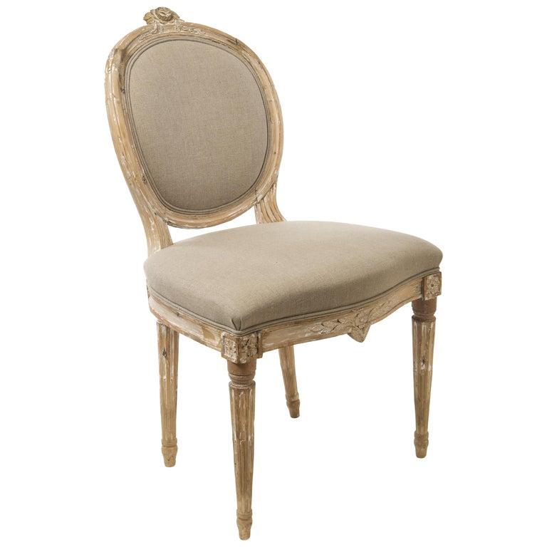 18th Century Gustavian Side Chair 1