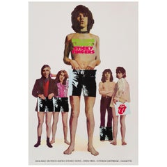 The Rolling Stones 'Sticky Fingers' US Promotional Poster, 1971