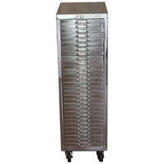Stripped Metal 30-Drawer Watchmakers Cabinet Filing Cabinet A4 Letter Size
