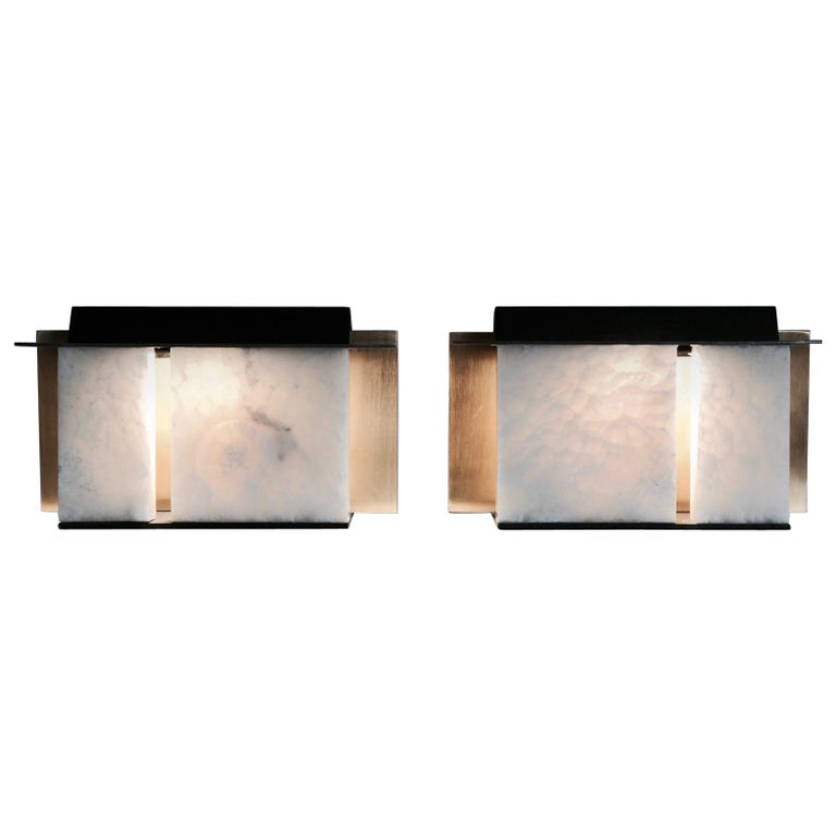 Isabene Pair of Lights, Table Lamps, Signed Isabella Garbagnati For Sale