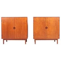 Pair of Cabinets by Hvidt & Mølgaard in Teak