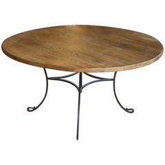 Vintage Spanish Round Table