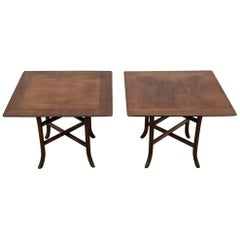 Pair of T.H. Robsjohn-Gibbings for Widdicomb Side Tables