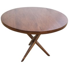 T.H. Robsjohn-Gibbings Tripod Base Side Table