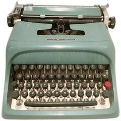 "1950s Italian Olivetti Underwood ""Studio 44"" Typewriter"