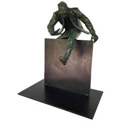 """""""Plan B"""" Bronze Sculpture by Jim Rennery"""
