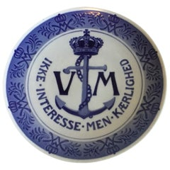 Royal Copenhagen Commemorative Plate from 1928 RC-CM253