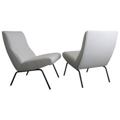 Pierre Paulin Pair of Easy Chairs, CM168, Ed Thonet France, 1958
