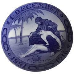 Royal Copenhagen Commemorative Plate from 1916 RC-CM165