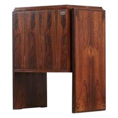 Pair of End Table Design by Joaquim Tenreiro, Brazilian Design