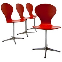 Swivel Chairs by Benze, 1960s