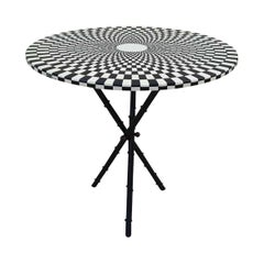 "1960s Piero Fornasetti Side Table ""Egocentrismo"""