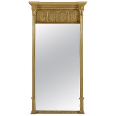 Large Early 19th Century Regency Period Giltwood Pier Mirror