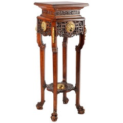 Oriental Style Stand, 19th Century, in the Style of Viardot