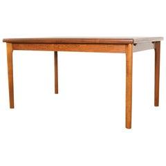 Midcentury Danish Dining Table in Teak by Henning Kjaernulf for Vejle