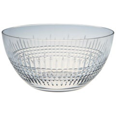 Set of 11 Baccarat Crystal 'Nancy' Pattern Finger or Dessert Bowls, circa 1950s