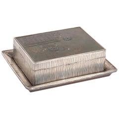 Japanese Sterling & Mixed Metal Box