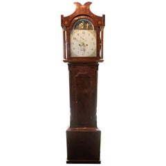 19th Century Small Mahogany William Smith of Crowland Longcase Clock