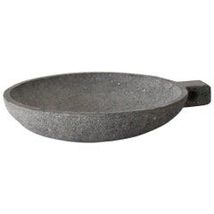 'Conkal' Pot Handmade in Volcanic Rock